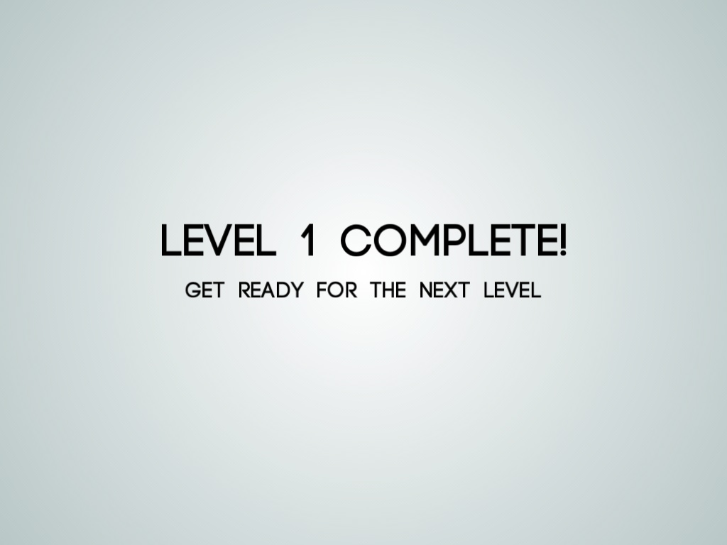 3-level-1-complete