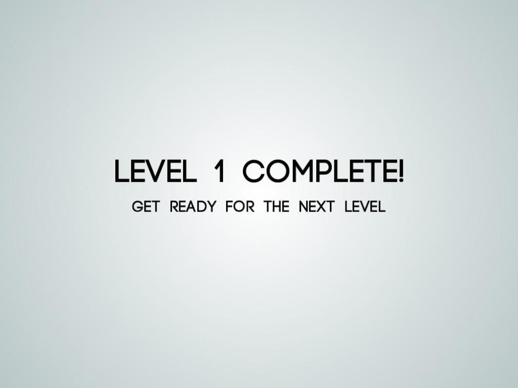 3-level-1-complete